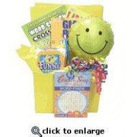 Buy cheap Puzzles and Smiles Uplifting Get Well Gift Basket for Kids and Adults product