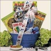 Quality Boy's Get Well Gift Basket Ages 9 to 12 - I Tunes Therapy for sale