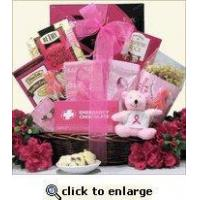 Buy cheap Breast Cancer Awareness Gift Basket For The Cure product
