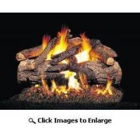 China Real Fyre Pioneer Oak Complete Gas Log Set 24 Inch Inch Natural Gas / Propane Vented on sale