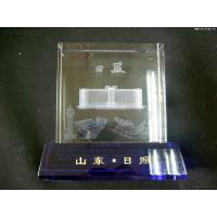 Buy cheap Shandong Rizhao-Unit Memorial gifts 3D Laser Crystal from Wholesalers