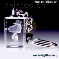 Buy cheap Cartoon Dog-Keychains 3D Laser Crystal from Wholesalers