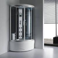 Buy cheap small size steam shower with massage jets from wholesalers