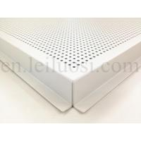 Buy cheap 595*595mm Perforated Aluminum Ceiling Tile product