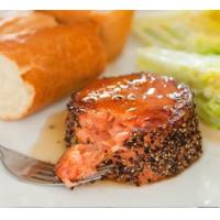 Buy cheap Smoked Salmon Bacon Infused Salmon Mignons product