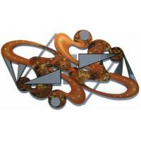 Buy cheap Caramel Crush Wooden Wall Sculpture with Mirrors product