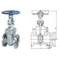 Buy cheap American standard gate valve from Wholesalers