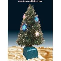 Buy cheap Green Fiber Optic Tree With Stars & LED product