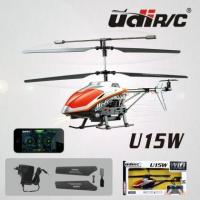 Buy cheap U15W 2.4G WIFI R&C Remote control ABS Red Helicopter Aero modeling product