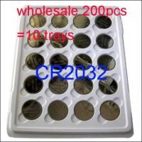Buy cheap Wholesale 200 x CR2032 2032 DL2032 BR2032 KL2032 5004LC Button Cell Coin Battery 3V product