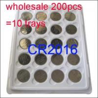 Buy cheap Wholesale 200 x CR2016 DL2016 ECR2016 SBT11 BR2016 KCR2016 LM2016 Button Cell Coin Battery product