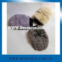 Buy cheap car wash mitt supersoft synthetic wool wash mitt product