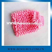 Buy cheap car wash mitt microfiber chenille cleaning glove product
