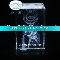 Buy cheap Artificial Crafts(970) beautiful and newest 3d laser crystal crafts product