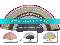 Buy cheap Artificial Crafts(970) Special wooden hand fan of many colors product