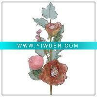 Buy cheap Artificial Crafts(970) beautiful durable artificial flower rose BT02S05-1 product