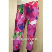 Buy cheap 180 GRAM ELASTON SOFT,REACTIVE PRINTED 3/4 PANT WITH BODY FIT. product