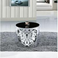 China Coffee Tables&Side Tables Glass Round Side Table on sale
