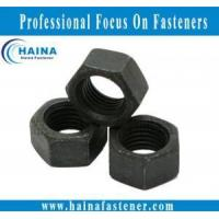 Buy cheap Other Black zinc plated hex nut product