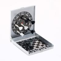 Buy cheap Magnetic Games MAGNETIC DARTS & CHESS 2 IN 1 GAME product