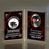 Buy cheap Red Personalized Acrylic Book Keepsake from Wholesalers