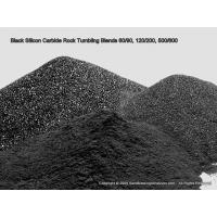 China Silicon Carbide (Black) Rock Tumbling Grit, Pick A Grade, 25 lbs or More on sale