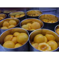 Buy cheap Canned Yellow Peach Halves product