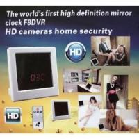 Buy cheap Mirror Clock Spy Camera With Remote control Motion Detection HD security Clock DVR product