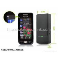 Buy cheap Mini Cell Phone Signal Jammer 3G/GSM/CDMA GPS Bluetooth WIFI 2.4G WLAN Blocker product