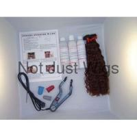 "Buy cheap Fusion Wand Kit 15"" Curly PreGlued Human Hair Extension product"