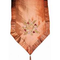 Buy cheap Placemats Ribbon Embroidered Runner (copper) from Wholesalers