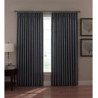 China Dover Thermal Insulated Pinch Pleated Drapes with Woven Scroll Fabric on sale