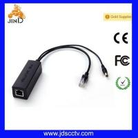 POE splitters 10/100M POE Support 12V volatage (JD-PD802) (JD-PD802)
