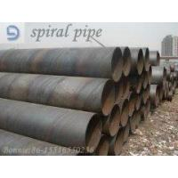 spiral-welded pipe