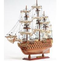 Buy cheap HMS Victory Model Tall Ship Lord Nelson's Flagship Wood 21