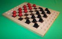 Buy cheap Wooden Checkers Marble Game Board [W-1930] product