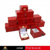 Red Ring Jewelry Boxes AQL-009