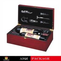 Buy cheap Wooden Wine Gift Boxes AQW-041 product
