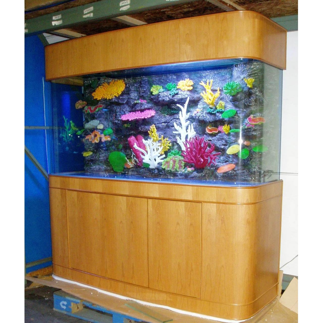 Bow front aquariums quality bow front aquariums for sale for Seamless fish tank