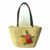 Corn husk straw bag 2014 New Style Corn Husk Bag