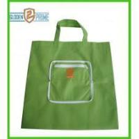 Buy cheap Green color PP non woven foldable bag product