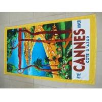 Buy cheap BEACH TOWEL 100% cotton velour two-side printed beach towel from wholesalers