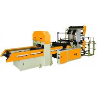 China Fully Automatic High Speed Double Layer Bottom Sealing Bags & T-Shirt Bags Making Machine on sale
