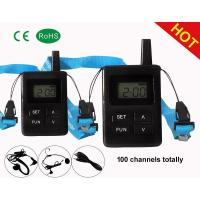 2.4G wireless tour guides system