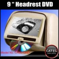 9 inch car headrest DVD players with 32 bit game engines for seatback AV system