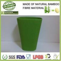 bamboo fibre natural biodegradable eco friendlly cup