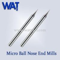 Buy cheap 2 Flute Micro Ball Nose End Mills product