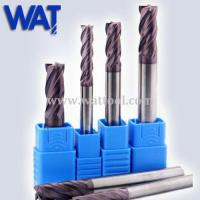 Buy cheap TiAlN Tungsten Carbide Milling Cutters from Wholesalers