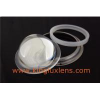 Buy cheap 100mm 45 degree optical glass lens for COB led high bay light product