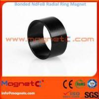 Buy cheap Plastic Bonded NdFeB Magnets Radial Ring from wholesalers